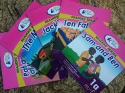 Our first set of published phonics readers!